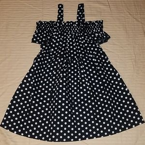 Other - BNWOT Toddlers Polka Dot Dress